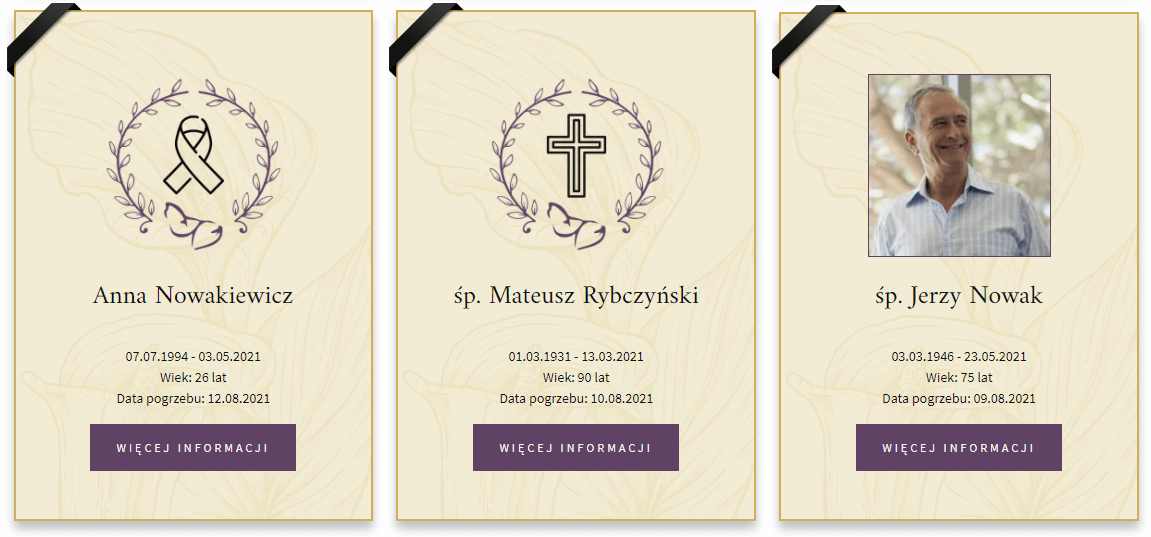 nekrologi online